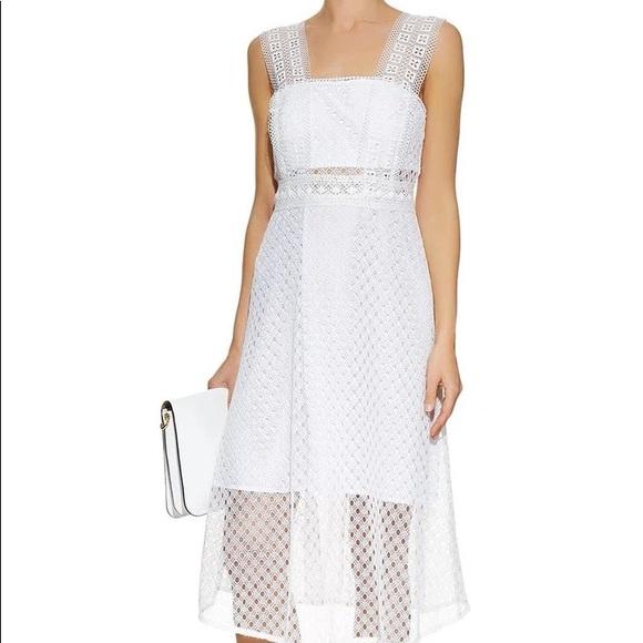 COPY - Sandro Etta Lace Midi Dress